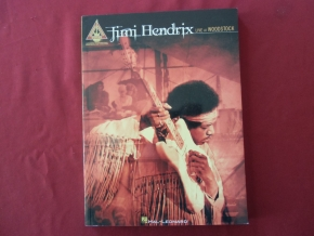 Jimi Hendrix - Live at Woodstock Songbook Notenbuch Vocal Guitar