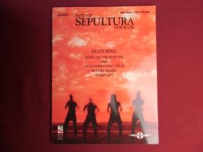 Sepultura - Best of Songbook Notenbuch Vocal Bass