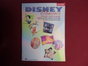 Disney Classics Songbook Notenbuch Vocal Easy Guitar