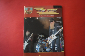 ZZ Top - Guitar Playalong (mit CD) Songbook Notenbuch Vocal Guitar