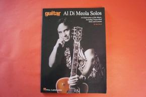 Al Di Meola - Solos Songbook Notenbuch Guitar