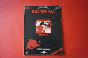 Metallica - Kill em all (ältere Ausgabe) Songbook Notenbuch Vocal Guitar