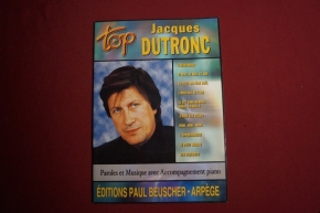 Jacques Dutronc - Top Dutronc Songbook Notenbuch Piano Vocal Guitar PVG