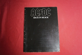 ACDC - Back in Black (alte Ausgabe) Songbook Notenbuch Vocal Guitar