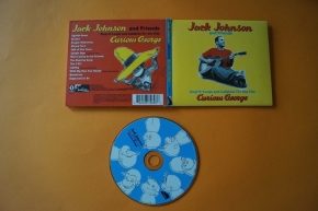 Jack Johnson and Friends  Curious George (CD Digipak)