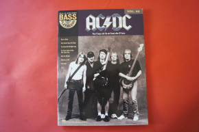 ACDC  - Bass Playalong (mit Audiocode) Songbook Notenbuch Vocal Bass
