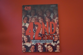 42nd Street (ältere Ausgabe) Songbook Notenbuch Piano Vocal Guitar PVG