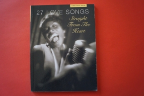 27 Love Songs Straight from the Heart Songbook Notenbuch Piano Vocal Guitar PVG