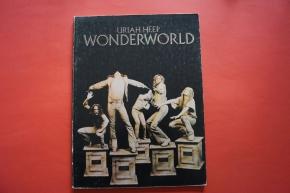 Uriah Heep - Wonderworld Songbook Notenbuch Piano Vocal Guitar PVG