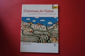 Christmas for Guitar Solos and Duets Songbook Notenbuch Vocal Guitar