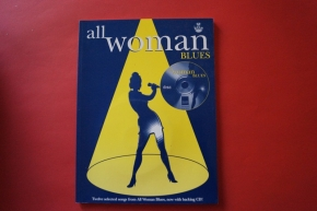 All Woman Blues (mit CD) Songbook Notenbuch Piano Vocal Guitar PVG
