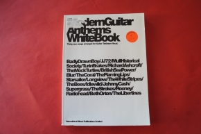 Modern Guitar Anthems: White Book Songbook Notenbuch Vocal Guitar