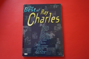 Ray Charles - The Best of .Songbook Notenbuch .Piano Vocal Guitar PVG