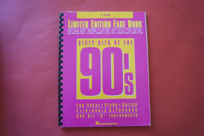 Fake Book: Sixty Hits of the 90s Songbook Notenbuch C-Instruments