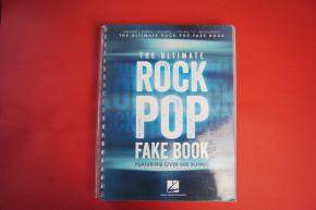 The Ultimate Pop / Rock Fake Book Songbook Notenbuch Vocal Guitar