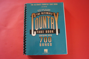 The Ultimate Country Fake Book (4th Edition) Songbook Notenbuch Piano Vocal Guitar PVG