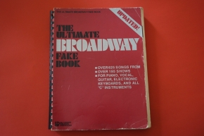 The Ultimate Broadway Fake Book (Updated) Songbook Notenbuch Piano Vocal Guitar PVG