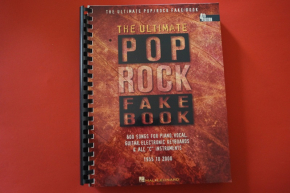 The Ultimate Pop / Rock Fake Book (4th Edition)Songbook Notenbuch Piano Vocal Guitar PVG