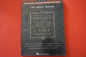 Professional Singers Country Fake Book (Low Voice) Songbook Notenbuch Vocal Guitar