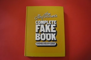 The Performer´s Complete Fake Book (Hardcover) Songbook Notenbuch Piano Vocal Guitar PVG