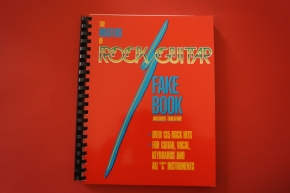 The Masters of Rock Guitar Fake Book Songbook Notenbuch Vocal Guitar