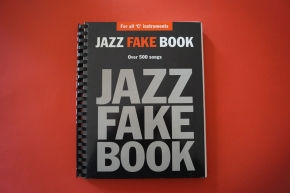 Jazz Fake Book Songbook Notenbuch C-Instruments