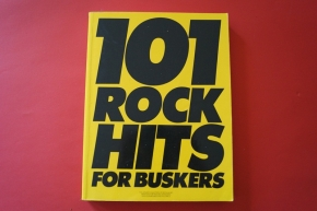 101 Rock Hits for Buskers Songbook Notenbuch Vocal Guitar