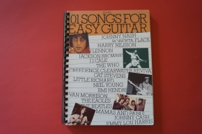 101 Songs for Easy Guitar (Book 1) Songbook Notenbuch Vocal Easy Guitar