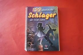150 Schlager der 50er Jahre Songbook Notenbuch Vocal Guitar