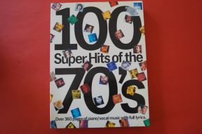 100 Super Hits of the 70s Songbook Notenbuch Piano Vocal Guitar PVG