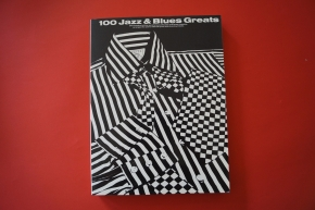 100 Jazz & Blues Greats Songbook Notenbuch Piano Vocal Guitar PVG