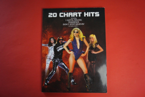 20 Chart Hits Songbook Notenbuch Piano Vocal Guitar PVG