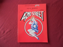 42nd Street  Songbook Notenbuch Piano Vocal Guitar PVG