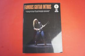 Famous Guitar Intros (mit CD) Gitarrenbuch