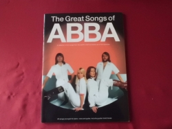 Abba - The Great Songs of Abba (neuere Ausgabe) Songbook Notenbuch Piano Vocal Guitar PVG