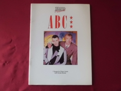 ABC - 7 Songs  Songbook Notenbuch Piano Vocal Guitar PVG