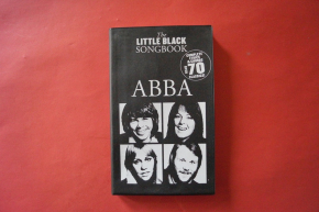 Abba - Little Black Songbook Songbook  Vocal Guitar Chords