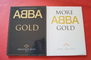 Abba - Gold & More Gold  Songbooks Notenbücher Piano Vocal Guitar PVG
