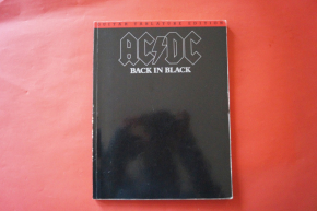 ACDC - Back in Black  Songbook Notenbuch Vocal Guitar