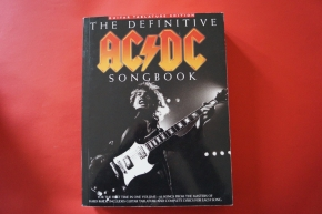 ACDC - The Definitive Songbook Songbook Notenbuch Vocal Guitar