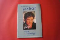 David Hasselhoff - Künstlerportrait Songbook Notenbuch Piano Vocal Guitar PVG