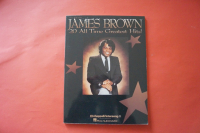 James Brown - 20 All Time Greatest Hits Songbook Notenbuch Piano Vocal Guitar PVG