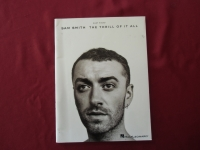 Sam Smith - The Thrill of it all Songbook Notenbuch Easy Piano Vocal