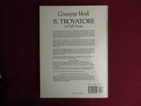 Il Trovatore Songbook Notenbuch für Orchester (Transcribed Scores)