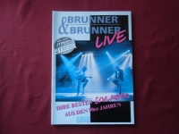 Brunner & Brunner - Live Songbook Notenbuch Vocal Guitar