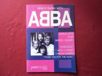 Abba - Sing n swing with Songbook Notenbuch  für Chor