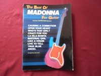 Madonna - The Best of for Guitar Songbook Notenbuch  Piano Vocal Guitar PVG