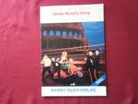 Spider Murphy Gang - Scharf wia Peperoni Songbook Notenbuch  Piano Vocal Guitar PVG