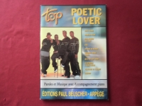 Poetic Lover - Top Poetic Lover Songbook Notenbuch  Piano Vocal Guitar PVG