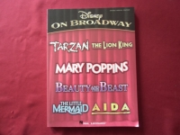Disney on Broadway Songbook Notenbuch  Piano Vocal Guitar PVG